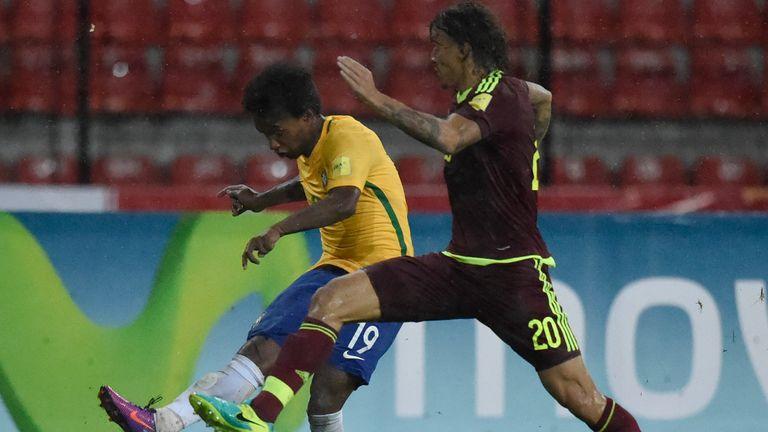 Willian was on the scoresheet for Brazil