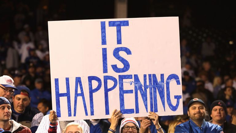 Chicago Cubs fans believe their wait is finally over
