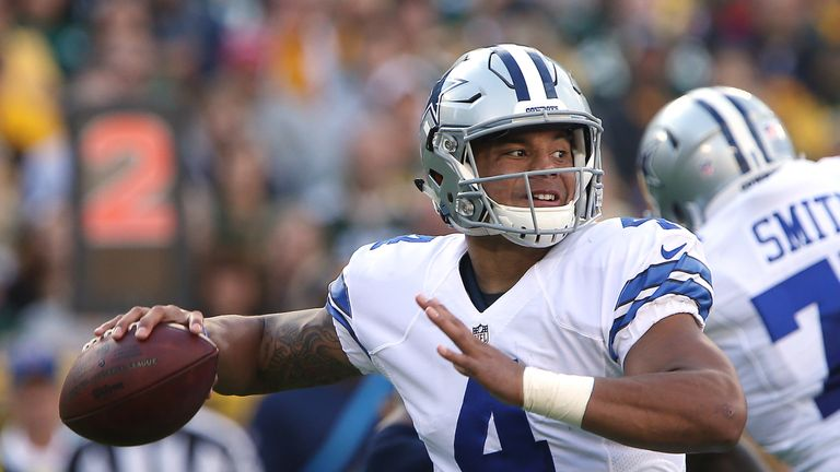 Dak Prescott will start for the Dallas Cowboys again after their bye this week