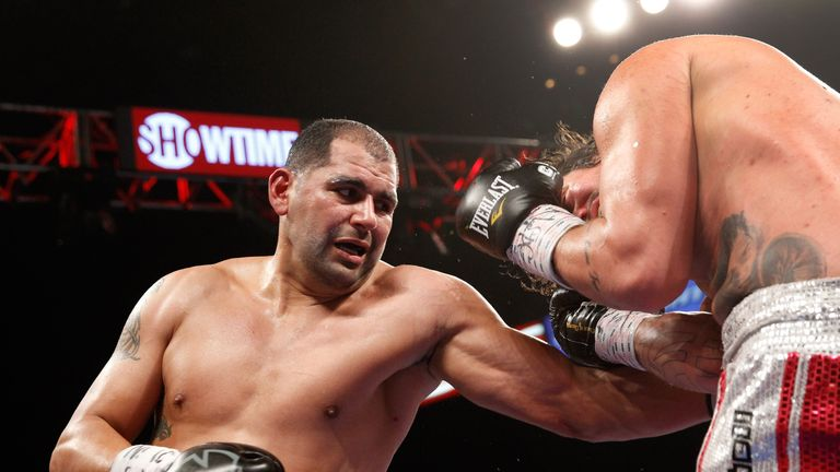 Eric Molina keen to face Anthony Joshua in December