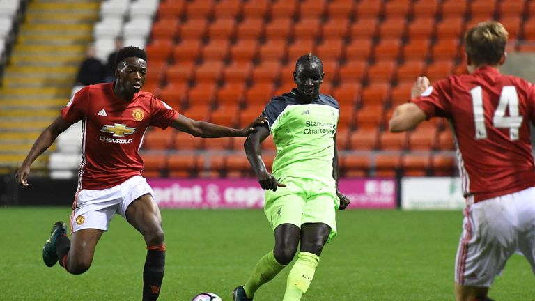 Mamadou Sakho also featured for a strong Liverpool side