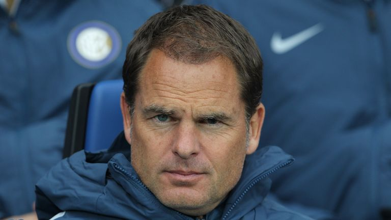 Frank de Boer has been linked with both clubs