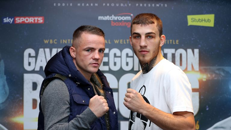 Frankie Gavin and Sam Eggington will fight this Saturday for Birmingham bragging rights