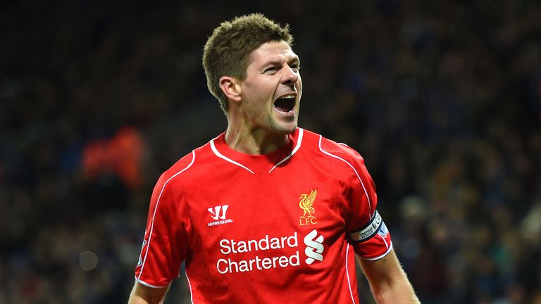 Steven Gerrard made over 500 appearances for Liverpool