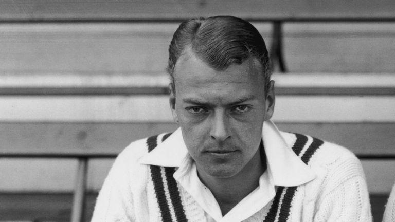 Ian Peebles took on the might of the 1930 Australians