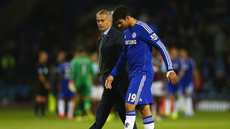 Costa worked under Jose Mourinho at Chelsea