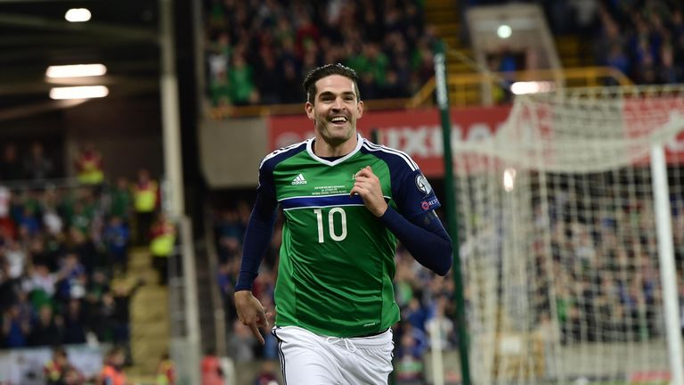 Hearts striker Kyle Lafferty may drop down to the bench against the Czechs