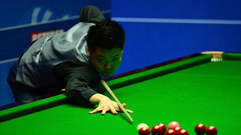 Liang Wenbo proved too strong for Judd Trump