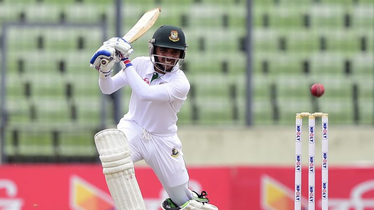 Bangladesh batsman Mominul Haque is one of the players England will need to look out for in the Test series