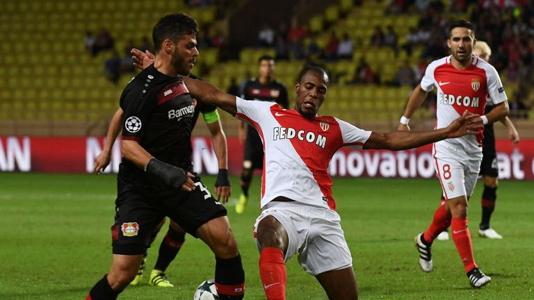 Tottenham have also been interested in Monaco right-back Djibril Sidibe