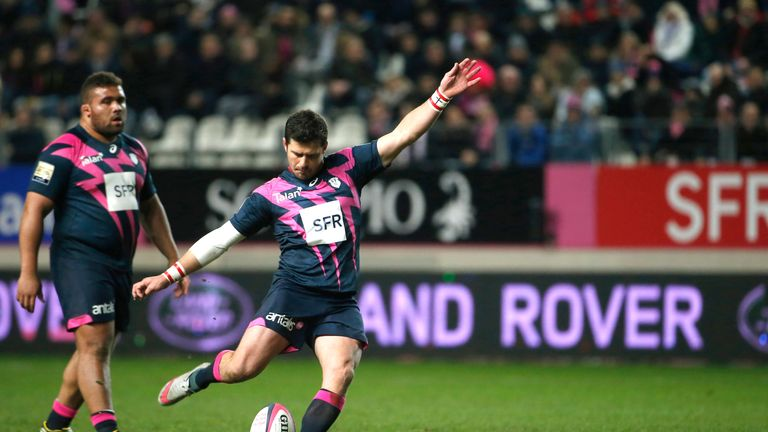 Morne Steyn offered seven points with the boot for Stade Francais
