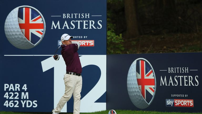 Paul McGinley shot a brilliant 67 to move to five under - just six off the lead