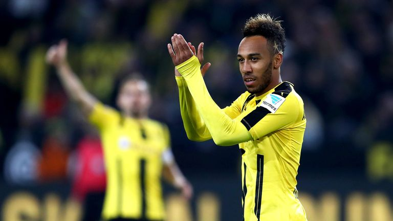 Transfer News!! Chelsea Close In On Signing Dortmund's Aubameyang For ₦26Billion (Details)