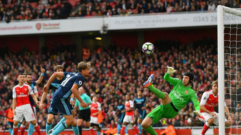 Petr Cech has impressed for Arsenal this season