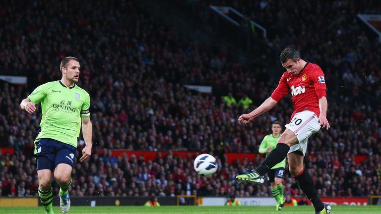 Van Persie was hailed for his technique by boss Sir Alex Ferguson