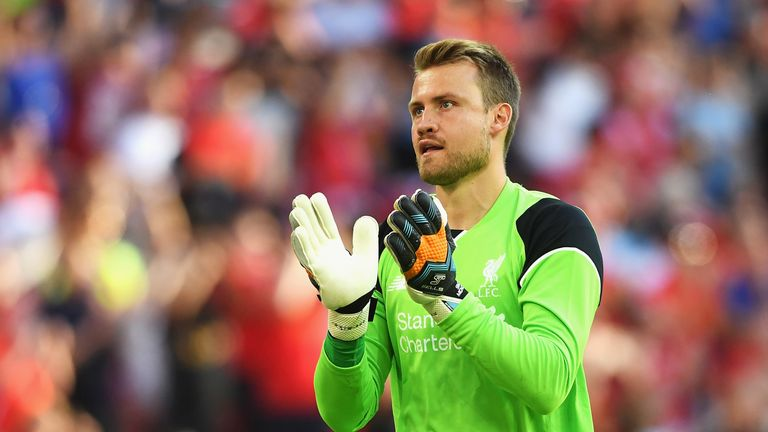 Simon Mignolet kept a clean sheet in Sunday's 1-0 win at West Brom