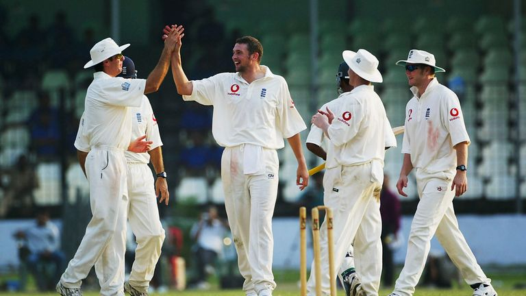 Steve Harmison starred in the first Test for England in 2003, taking nine wickets