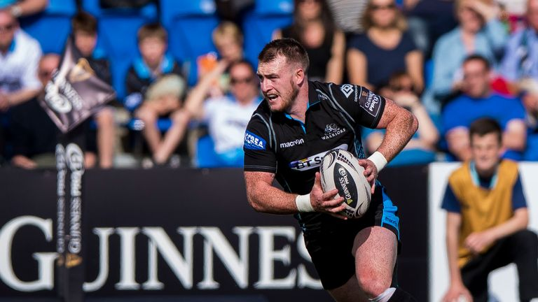 Stuart Hogg is expected to replace Murchie at full-back on Saturday