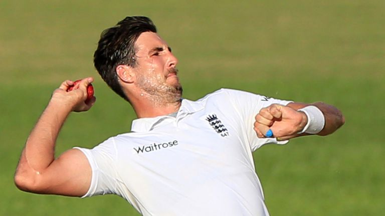Steven Finn has been called into the England squad for the winter's Ashes