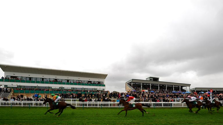 A view of Yarmouth racecourse
