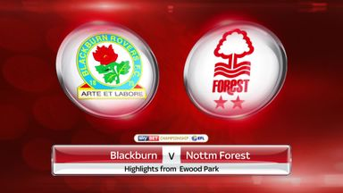 Blackburn 2-1 Nottingham Forest