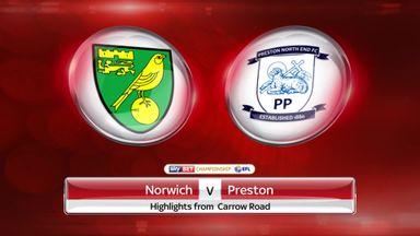 Norwich 0-1 Preston