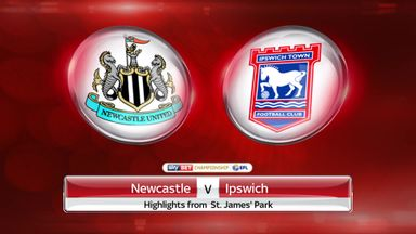 Newcastle 3-0 Ipswich