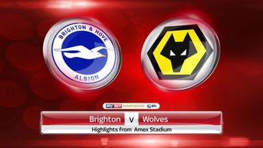 Brighton 1-0 Wolves