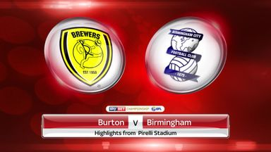 Burton 2-0 Birmingham