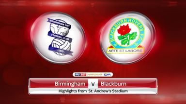 Birmingham 1-0 Blackburn