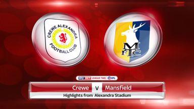 Crewe 1-1 Mansfield