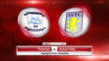 Preston 2-0 Aston Villa
