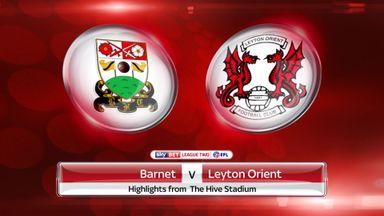 Barnet 0-0 Leyton Orient