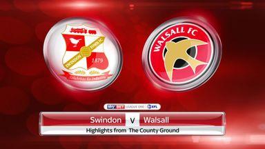 Swindon 0-2 Walsall