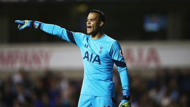 Michel Vorm played in the EFL Cup third round win over Gillingham
