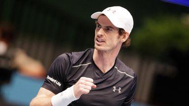 Andy Murray was made to work hard for his win by Gilles Simon  in Vienna