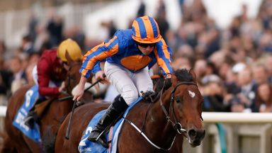 Churchill's form was boosted by Rivet