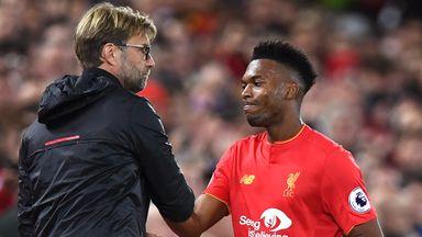 Jurgen Klopp says he cannot put a date on Daniel Sturridge's Liverpool return