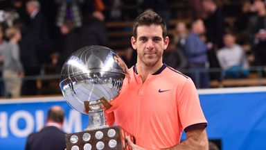 Juan Martin del Potro is a winner once again on the ATP Tour