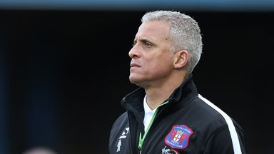 Carlisle boss Keith Curle