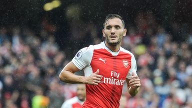 "Lucas Perez has said he feels ""really comfortable"" at Arsenal"