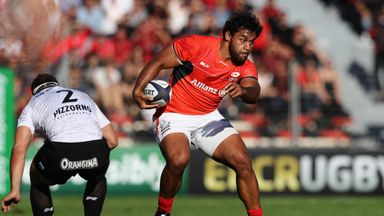 Billy Vunipola charges upfield