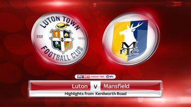 Luton 1-1 Mansfield