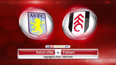 Aston Villa 1-0 Fulham