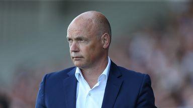 Uwe Rosler: Injury problems for Fleetwood boss