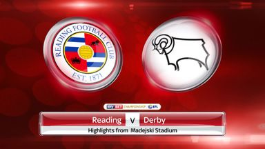 Reading 1-1 Derby