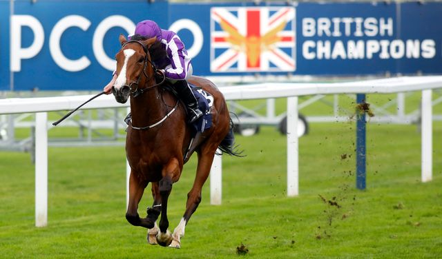Minding wins the QEII under Ryan Moore