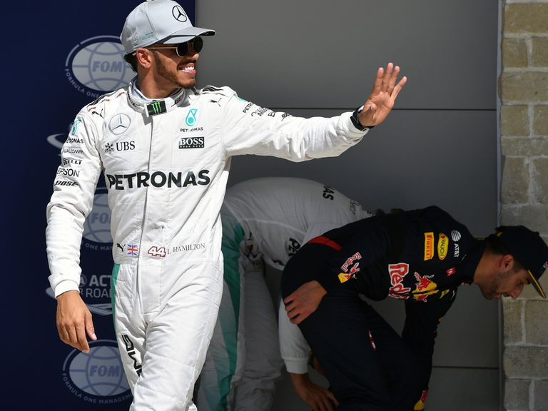 Hamilton takes out US Grand Prix, Ricciardo in third