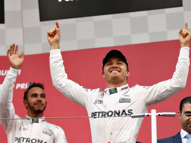 Hamilton vows all-out chase to catch Rosberg