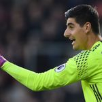 Thibaut Courtois 'happy' at Chelsea and rubbishes Real Madrid talk
